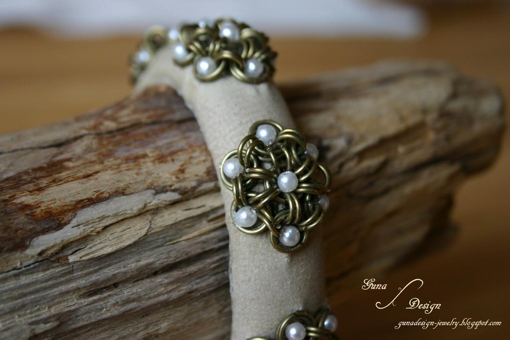 Bangle Iron Daisy pattern