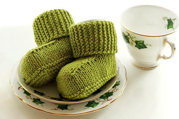 Baby Uggs Free Knitting Pattern