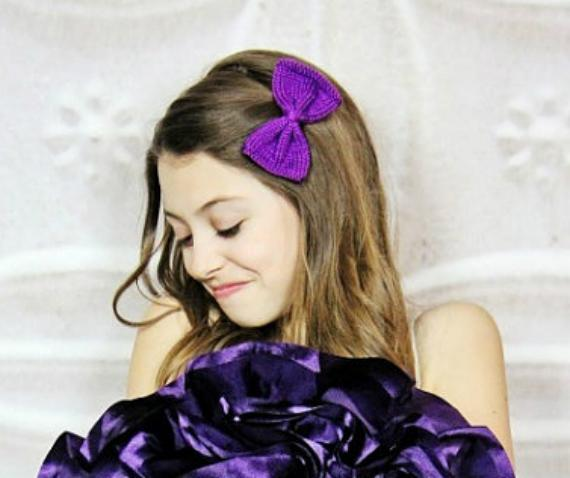 Perfect Knit Bow knitting pattern