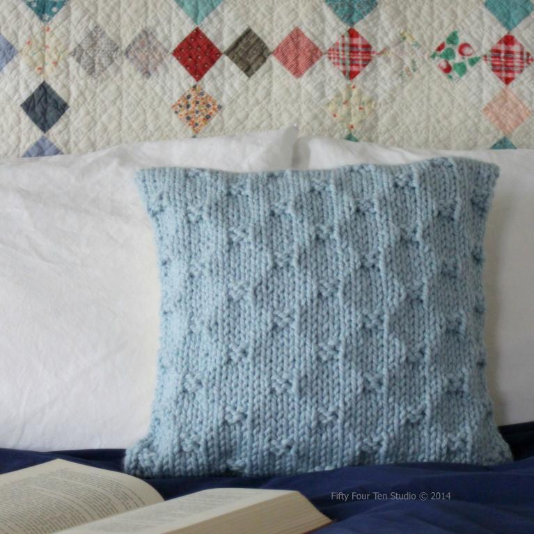 The Perfect Present Pillow knitting pattern