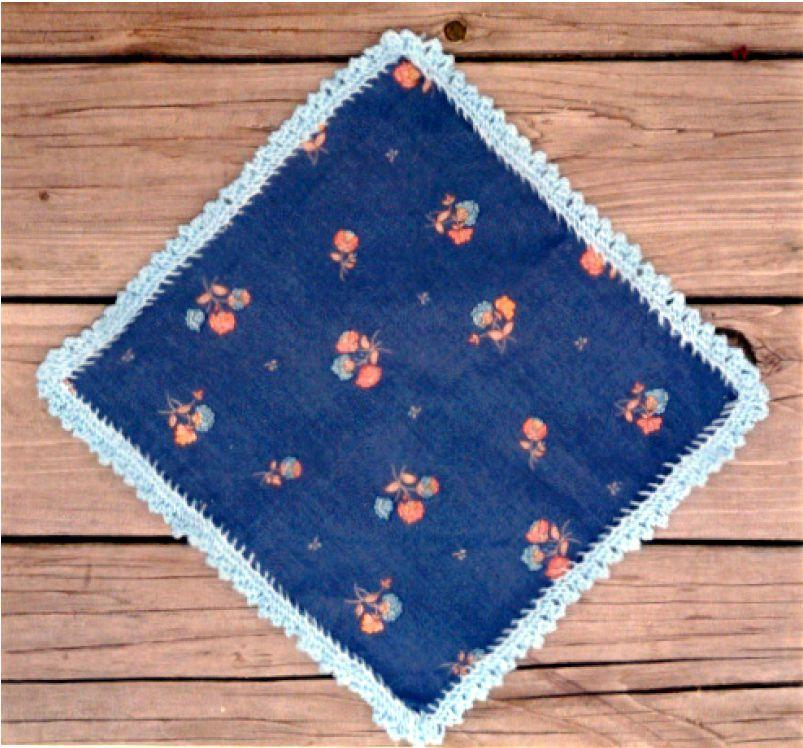 Knit Edge Hankie pattern