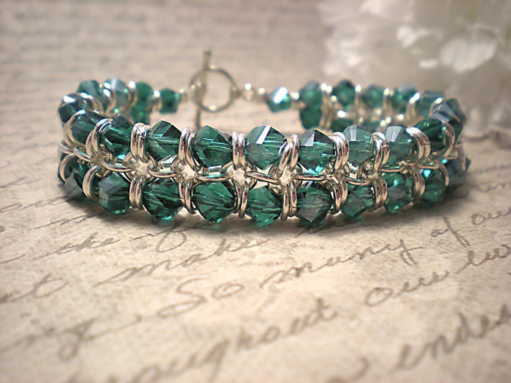Rings of Saturn Chainmaille Bracelet pattern