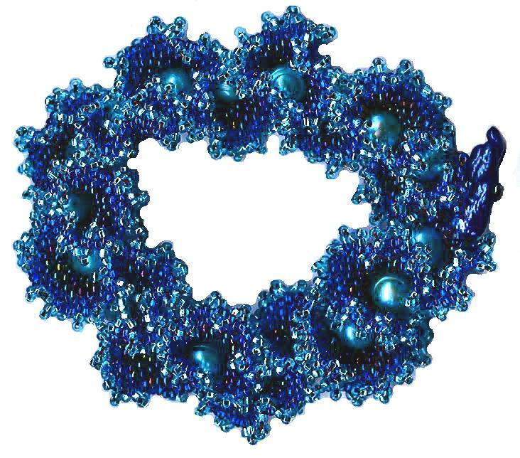 Pearl Ruffle Bracelet pattern