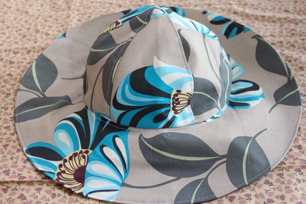 Sun and Rain Hat Free Sewing Pattern