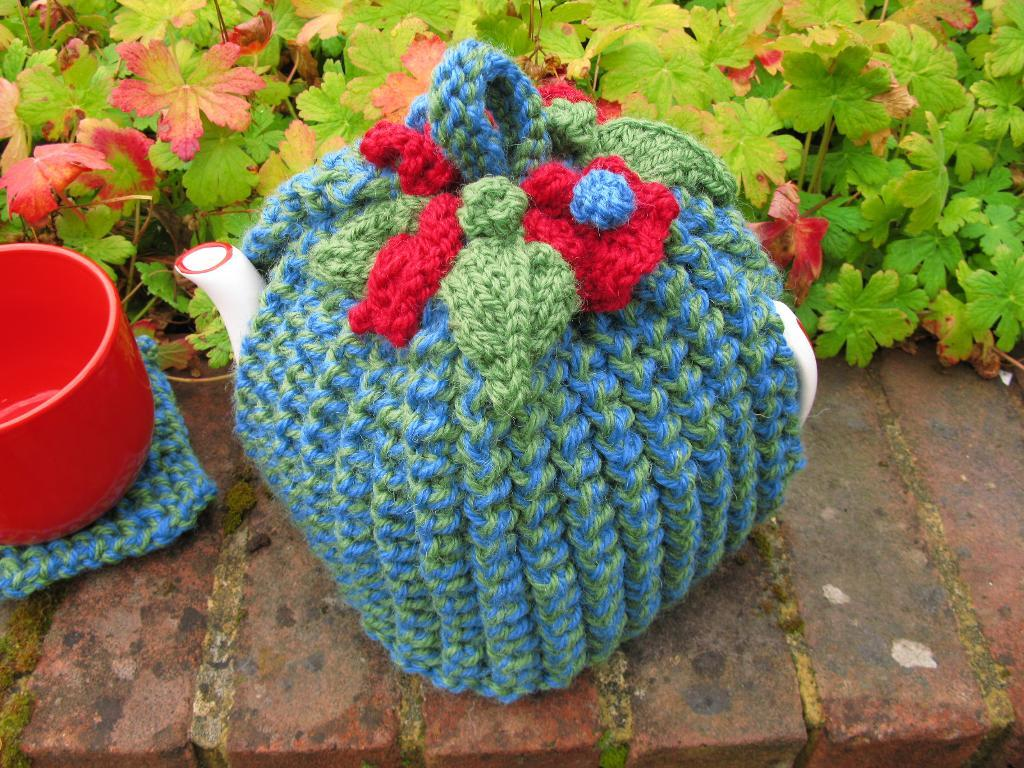 Barley Tea Cosy knitting pattern