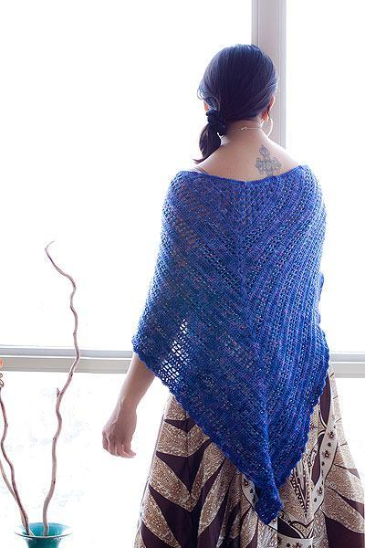 Lisa's Shawl free crochet pattern