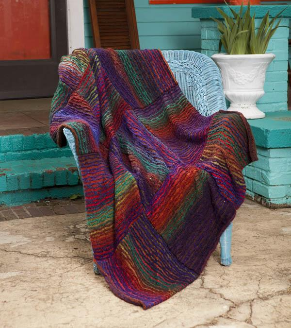 Mojave River Throw knitting pattern