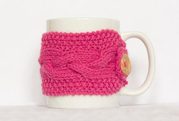 Mug Cozy knitting pattern