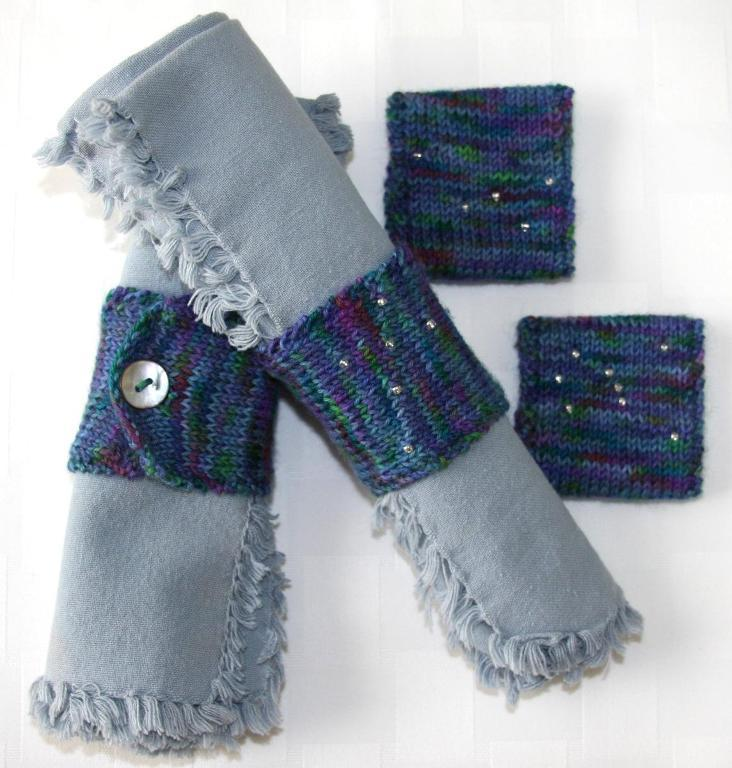 Constellation Napkin Rings knitting pattern