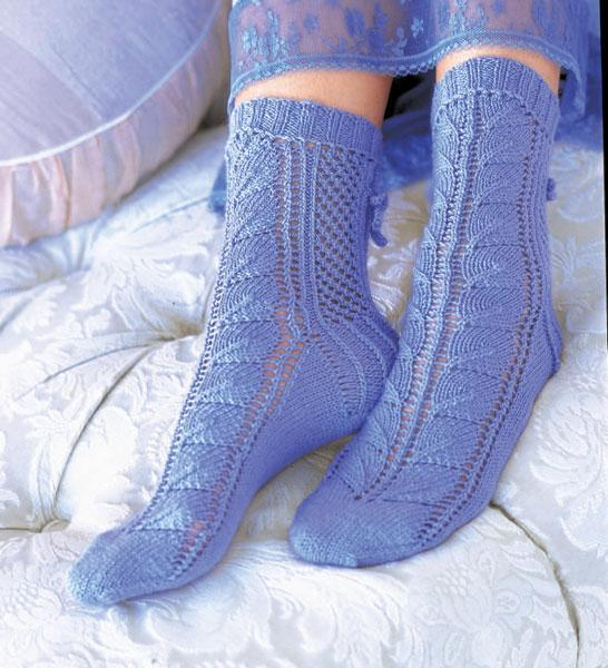 Lace Socks knitting pattern