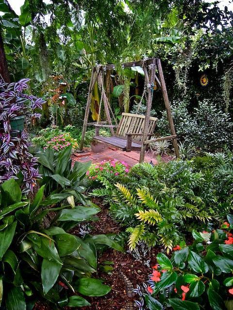 New Orleans Backyard Garden