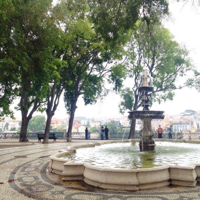 lisbon fountain garden