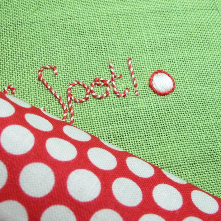 selecting and preparing backing fabric