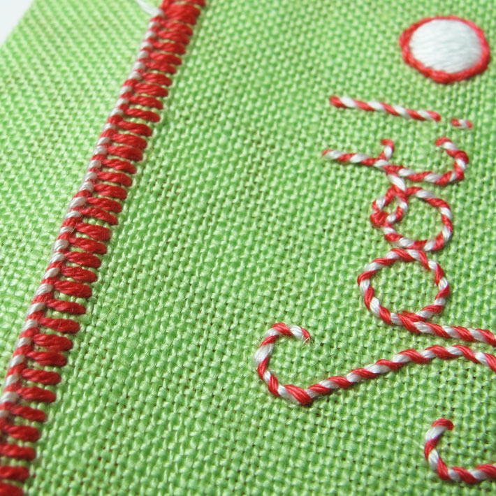 the whipped buttonhole stitch finished edge