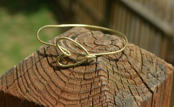 Wire Heart Bracelet