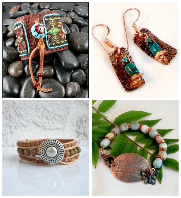 Hippie and Boho Style Jewelry