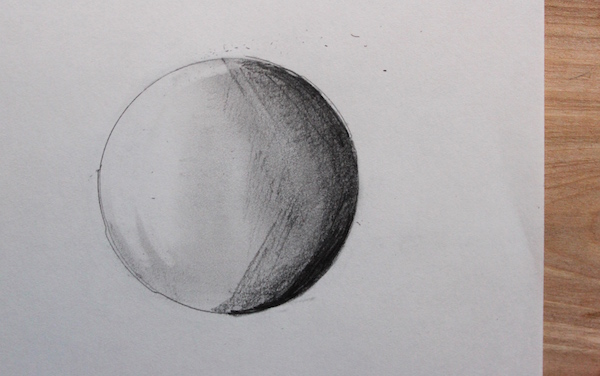 shaded sphere
