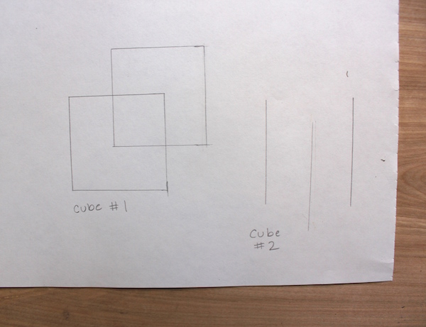 draw a 3d cube