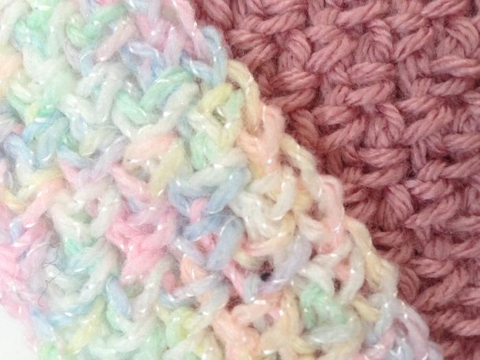 Advanced crochet stitches: Granite stitch