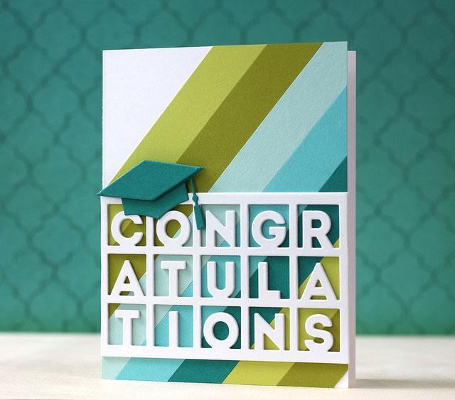 Graduation Congratulations Card by Laura Bassen