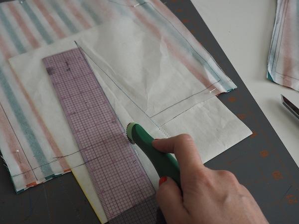 mark pleat lining