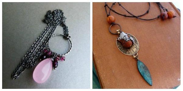 Long Pendant Necklaces