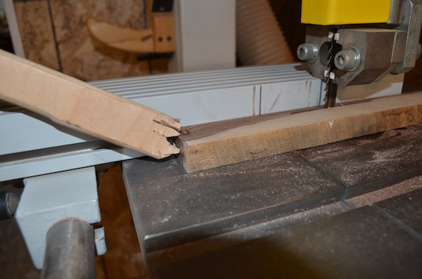 bandsaw safety with push stick