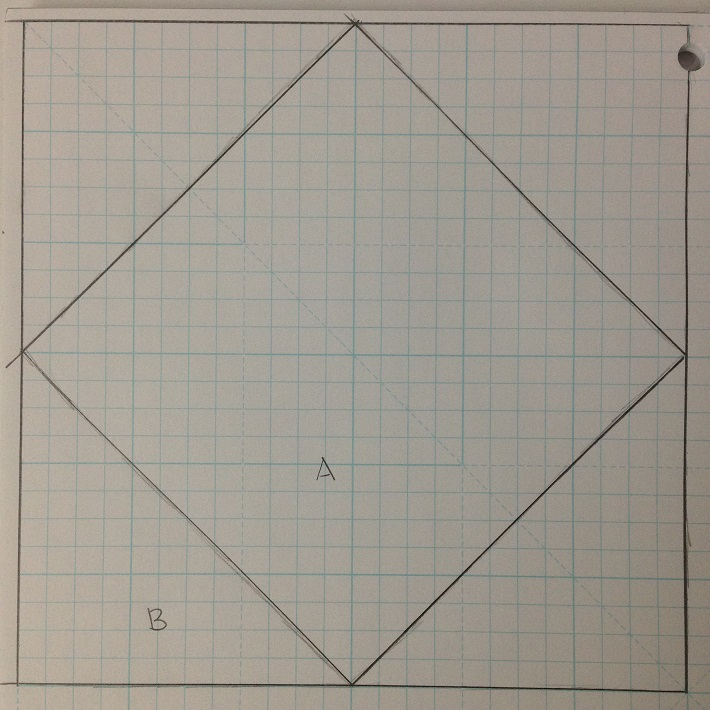 square in a square drawing