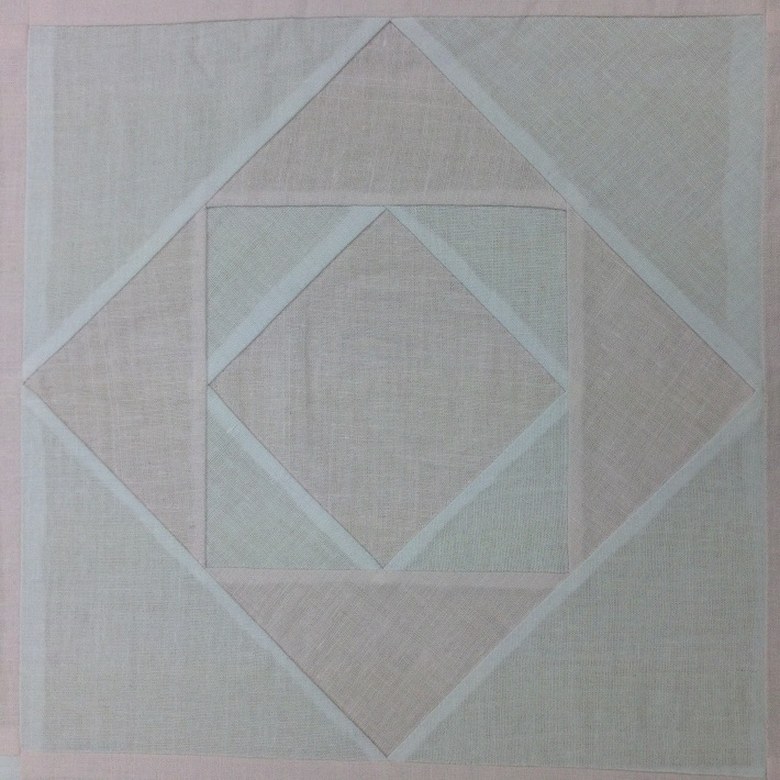 square in a square paper pieced