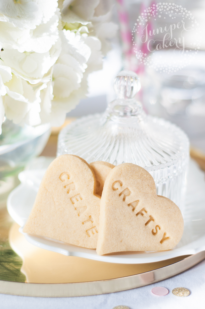 Tips and troubleshooting advice on how to add stamped designs to sugar cookies