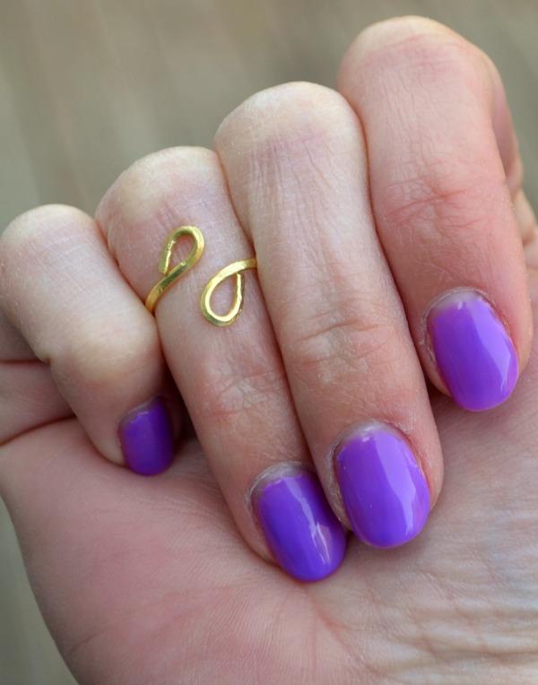 Easy Wire Midi Ring