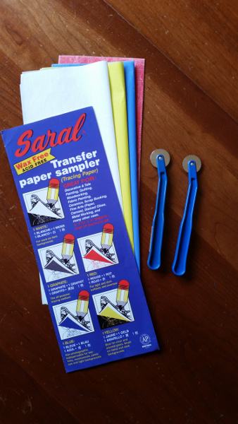 transfer paper and marking tools