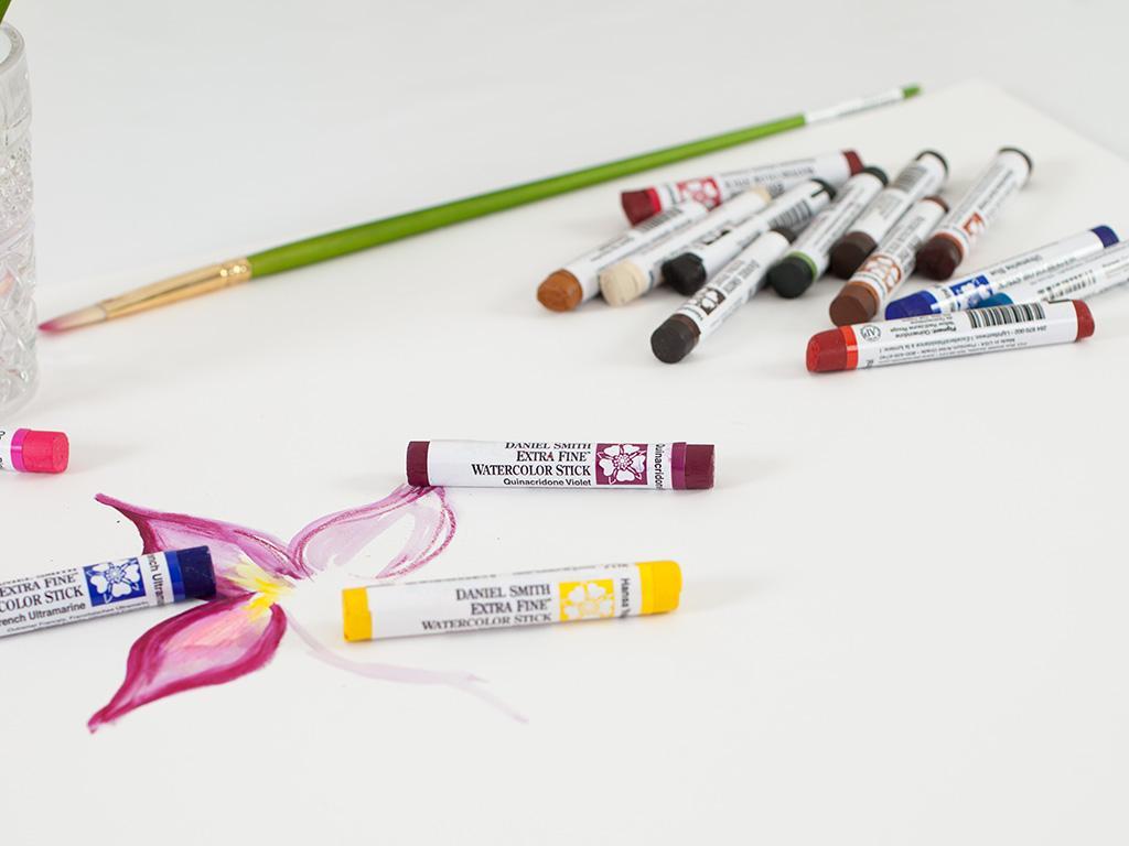 Watercolor Sticks