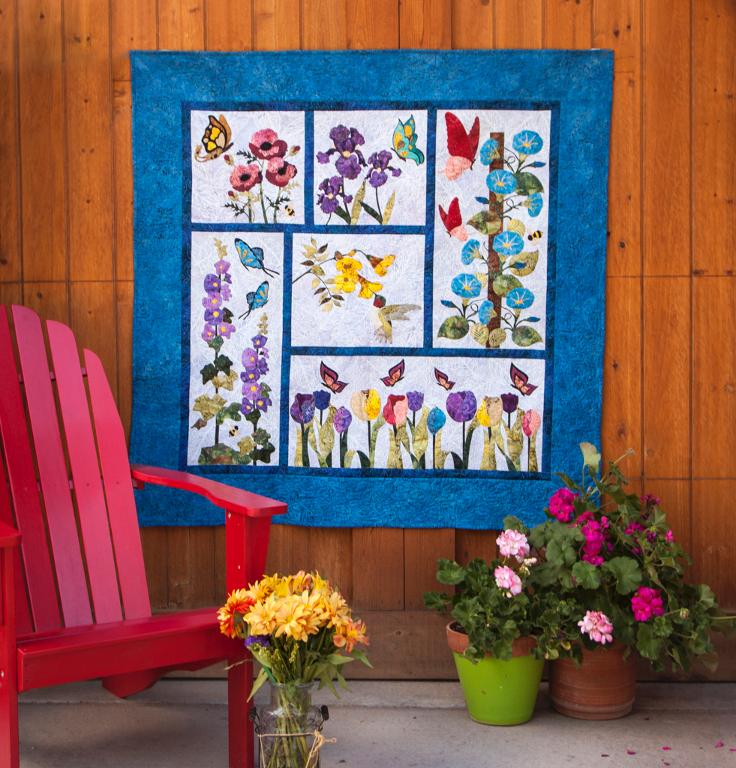 The Birds and the Bees Quilt Kit