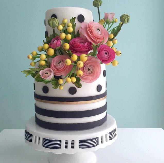 Cake via Bluprint user Alex Narramore | Filler Flowers