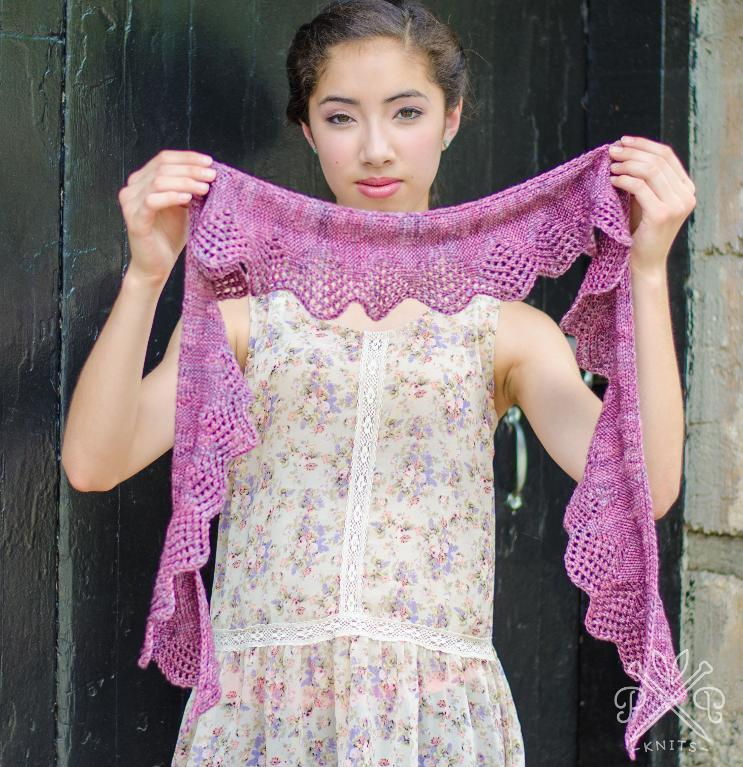 Battenburg Lace Scarf pattern - available on Craftsy