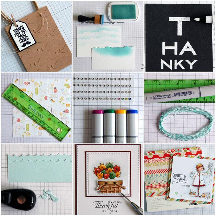 Card Making Hacks Collage