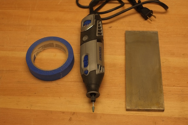 Tools for sharpening a bandsaw blade