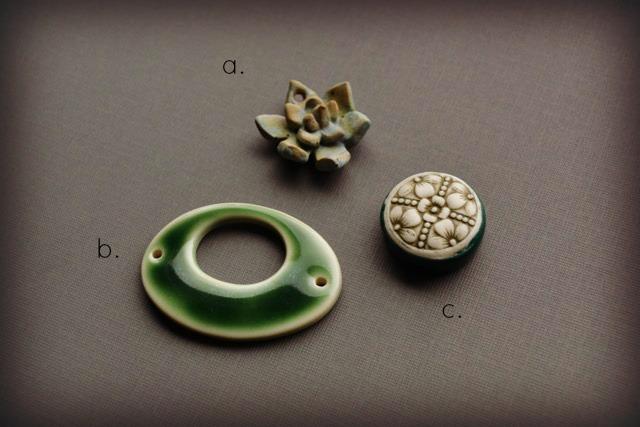 Examples of ceramic beads