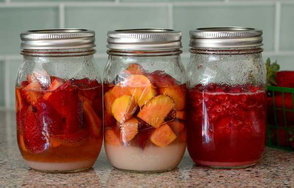A Trio of Sweet Summer Drinking Shrubs