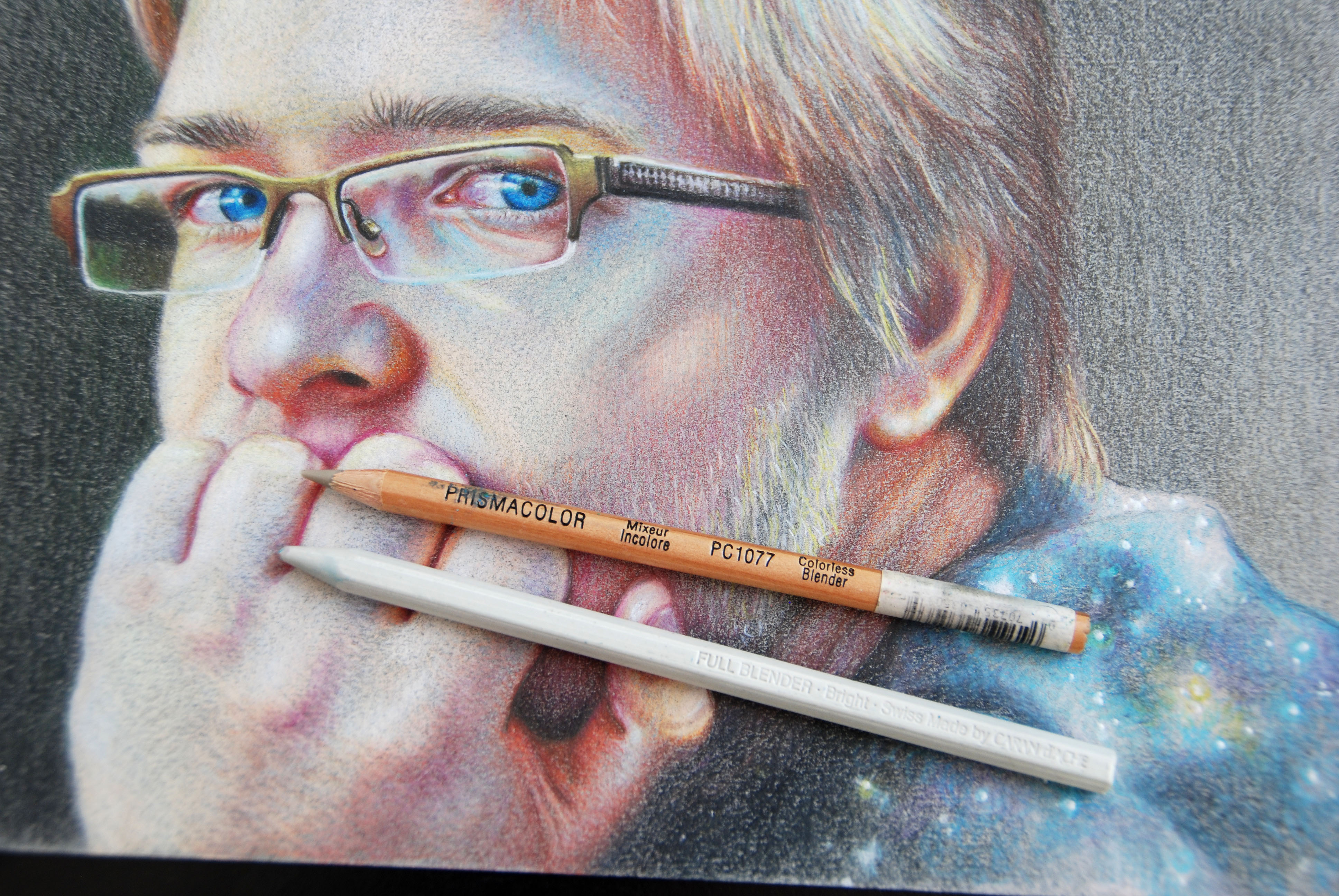 Blending With Colorless Pencil Blenders