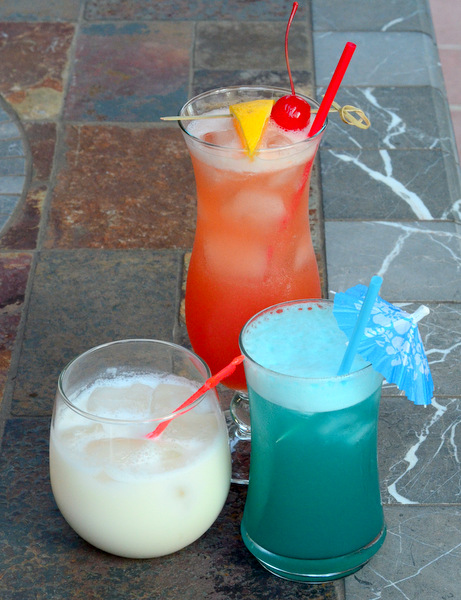 A Trio of Red, White and Blue Cocktails for the 4th of July
