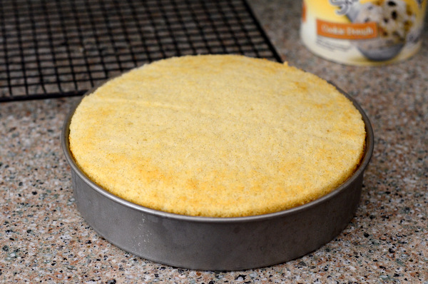 Place second layer of cake on top