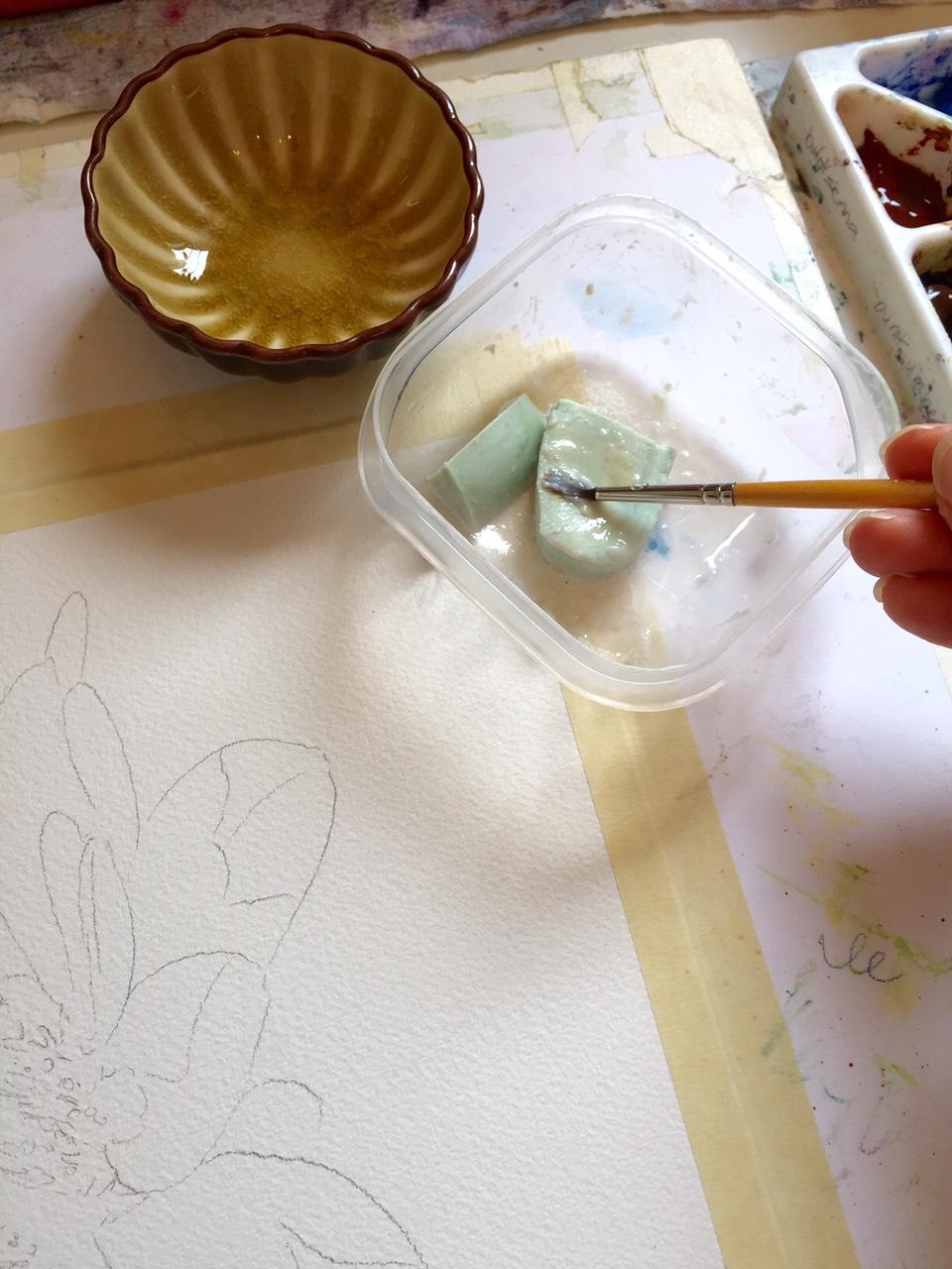 Hand soap application