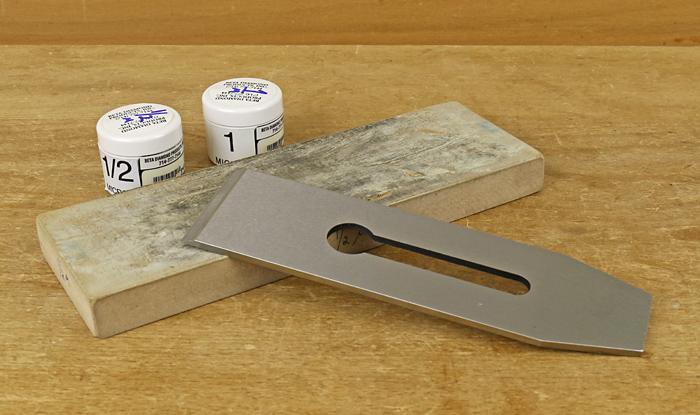 diamond paste sharpening