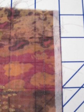 Silk seam