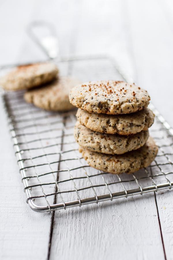 Lemon Poppy Seed Cookies - gluten-free and vegan