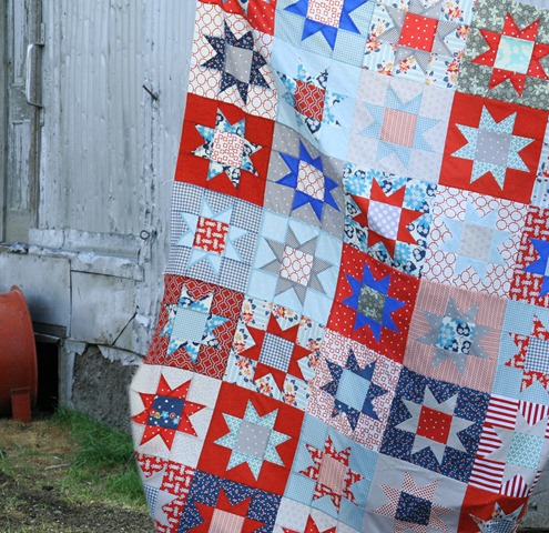 July Stars Quilt