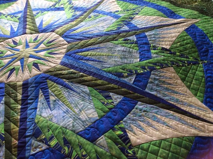 Judy Niemeyer quilt free motion quilting