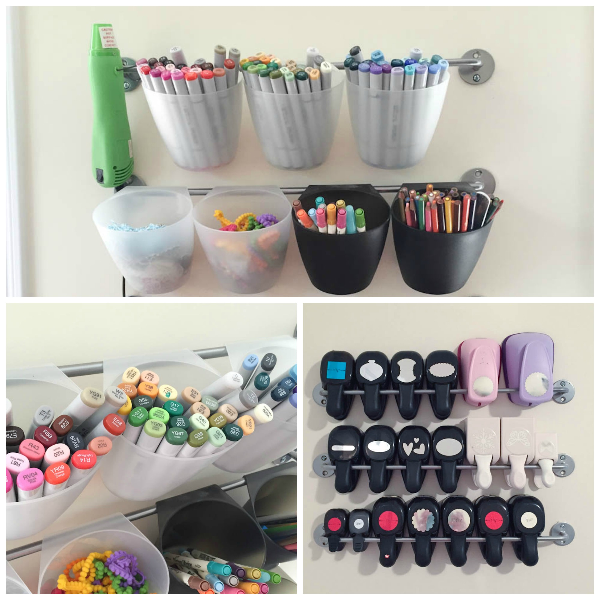 organized markers